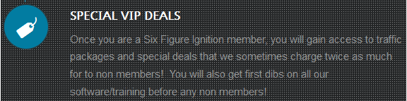 6 figure ignition vip deals