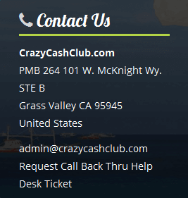 what is crazy cash club