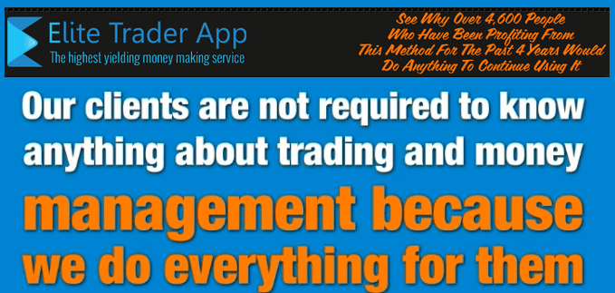 elite trader app_no experience needed