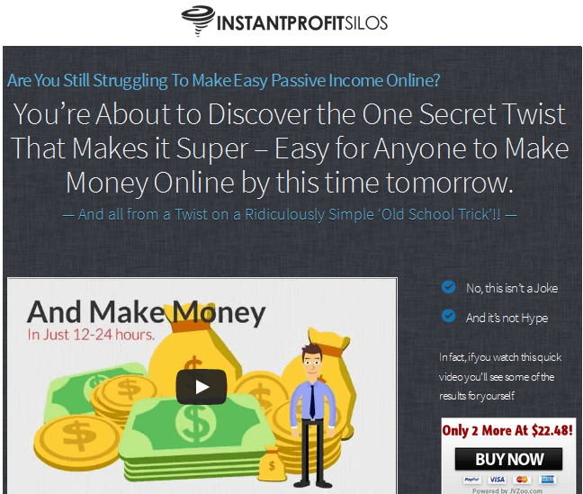 instant profit silos review_is it legit