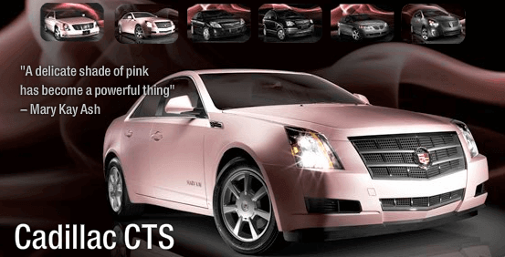 Pink Mary Kay Car For Sale