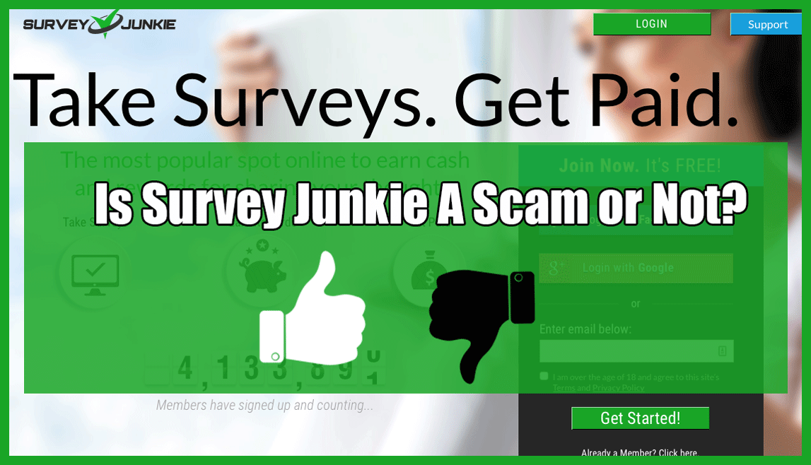 Survey Junkie Scam or Not