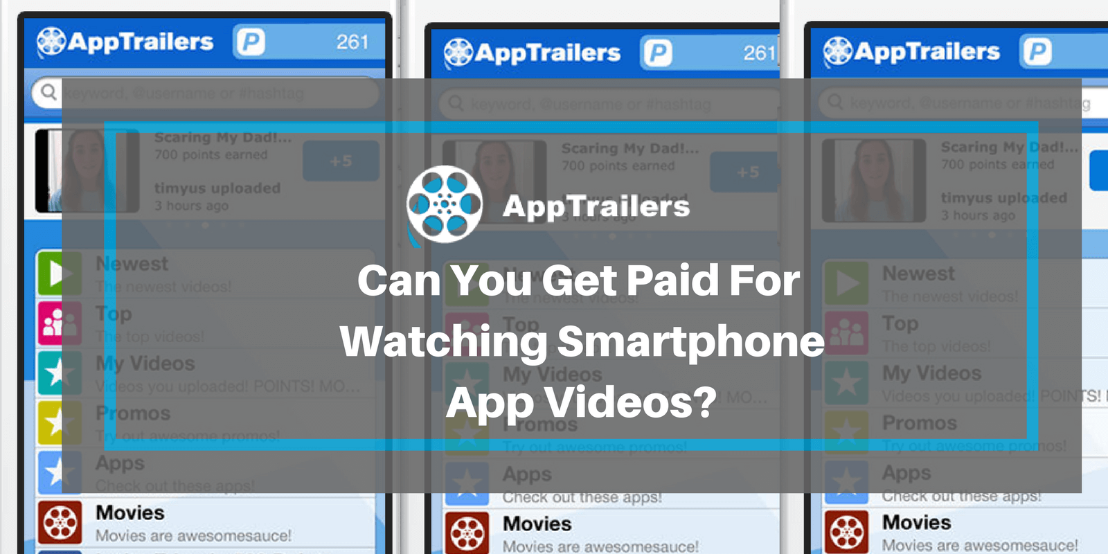 fast forward android app trailers