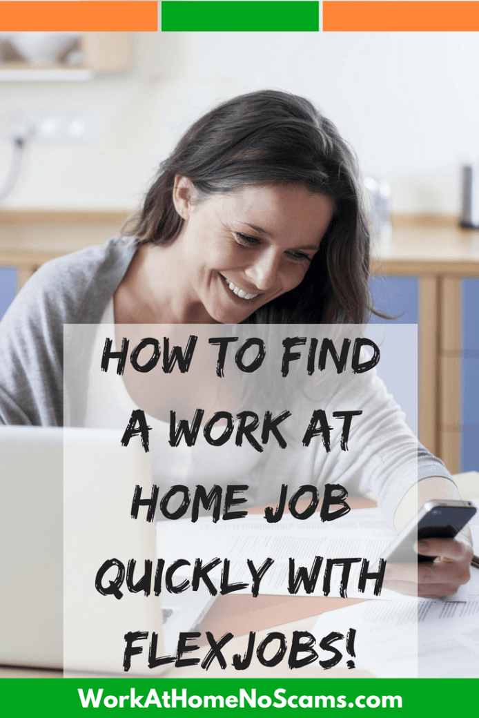 Find A Work At Home Job With FlexJobs