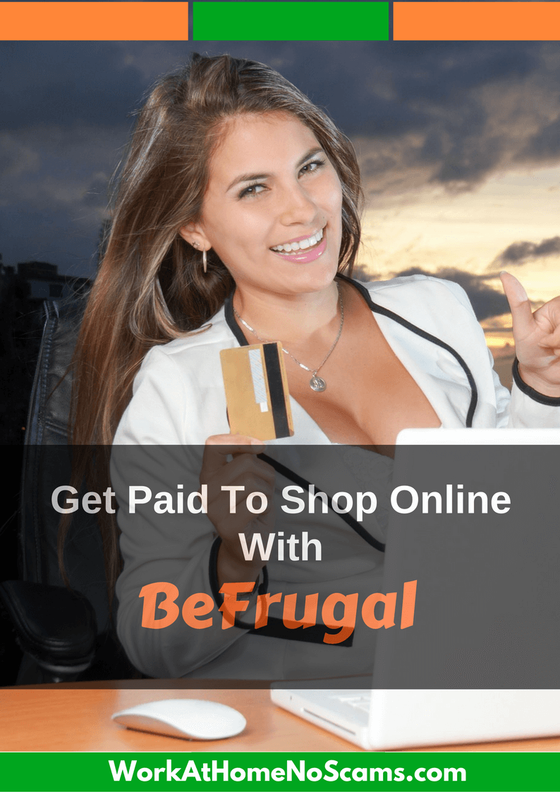 BeFrugal Get Paid To Shop Online