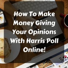 Harris Poll Online Paid Survey Opportunity