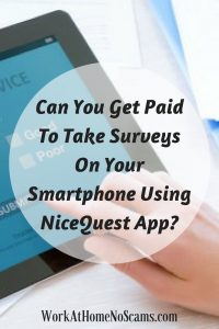Can You Make Money Taking Surveys on Your Smartphone with The NiceQuest App?