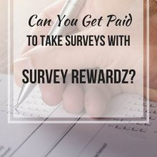Get Paid For Your Opinions With Survey Rewardz!