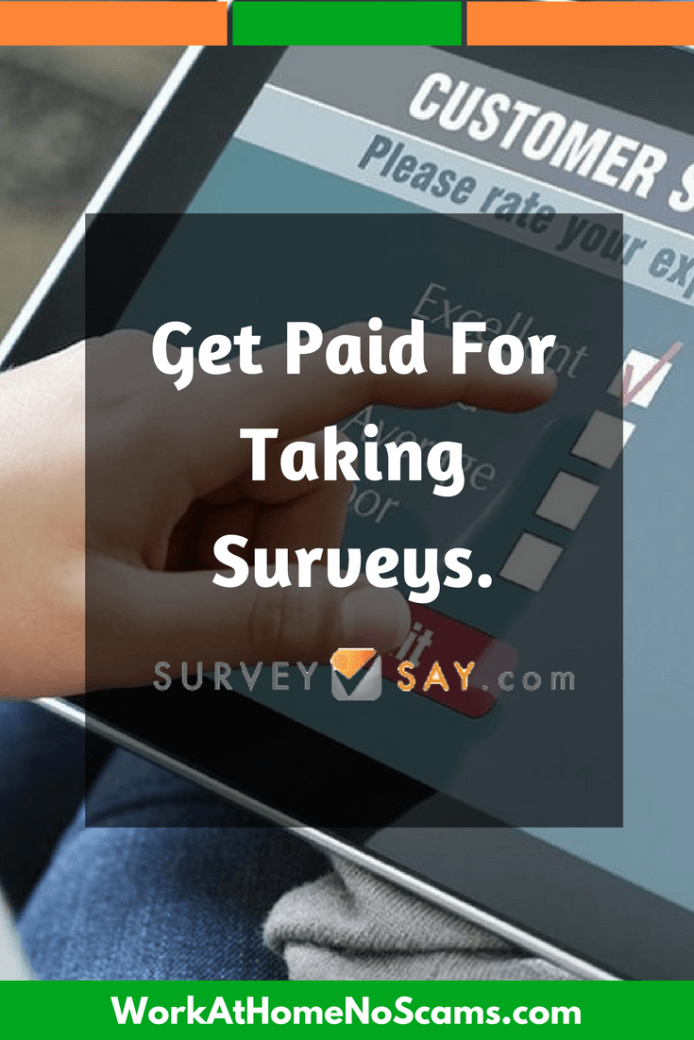 get paid to take surveys review surveysay review a time wasting scam or a legit survey 7828