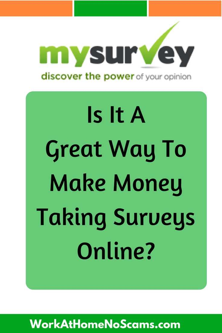 get paid to take surveys review mysurvey review a has been scam or legitimate 1946