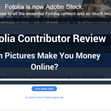 fotolia contributor review