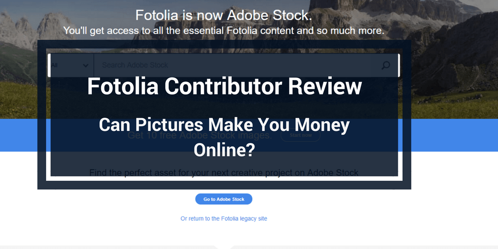 fotolia contributor review