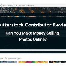 Shutterstock contributor review