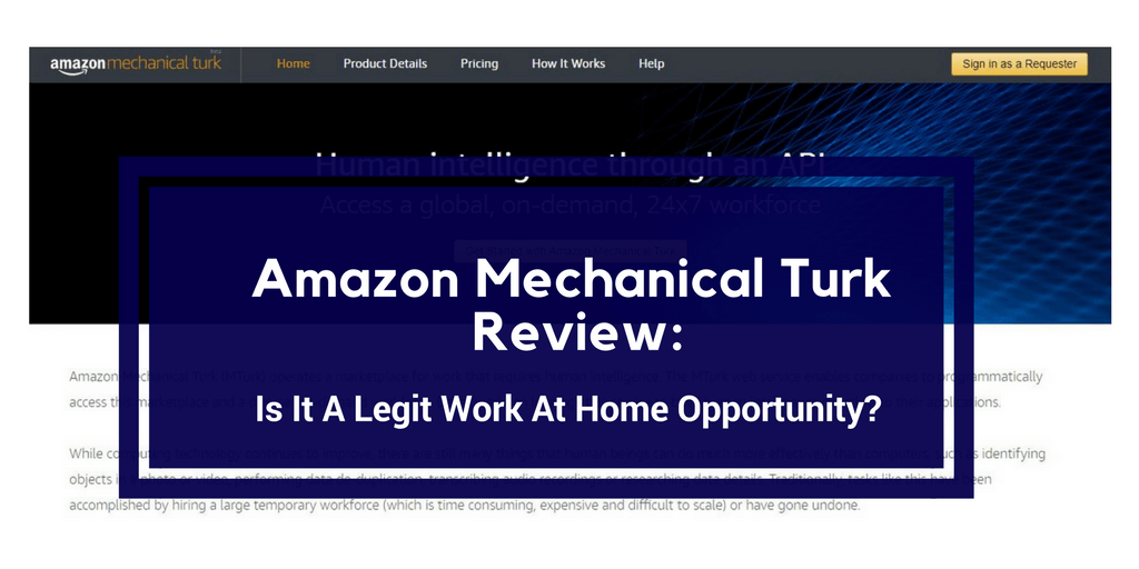 amazon work from home scam amazon mechanical turk review time wasting scam or legit 9987