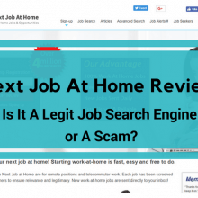 next job at home review