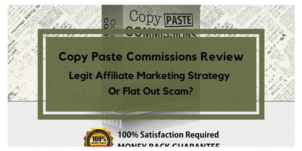 copy paste commissions