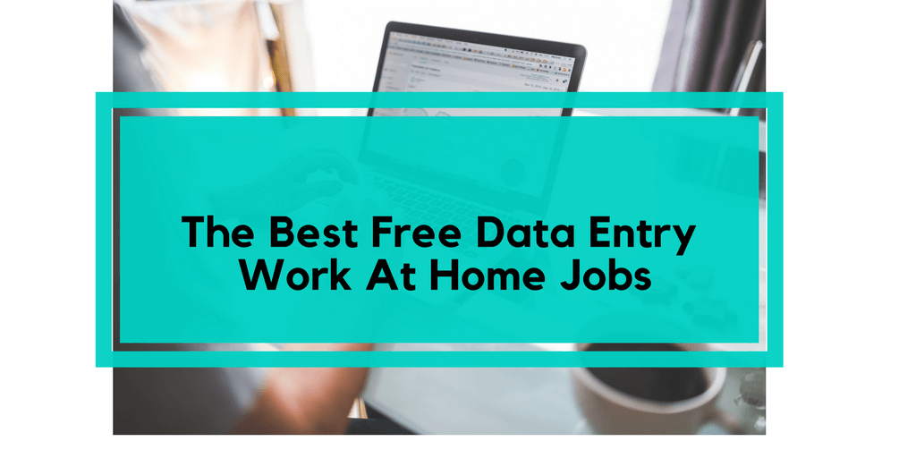 the best free data entry jobs