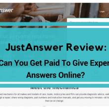 just answer review
