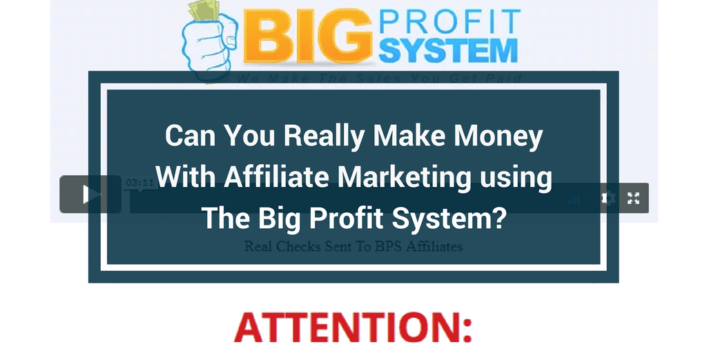 big profit system review