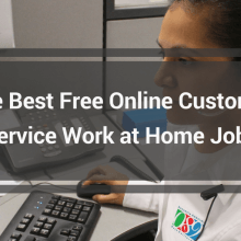 work at home customer service jobs