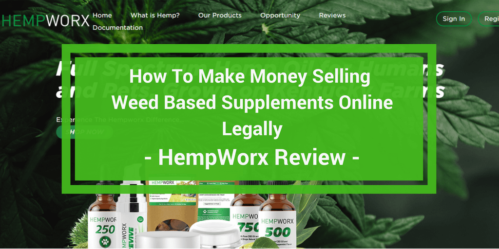 HempWorx Review: Is This Another MLM Pyramid Scam? | Work At
