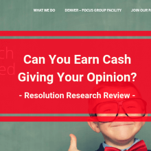 resolution research review