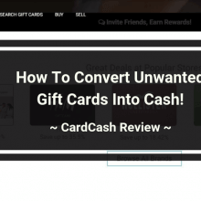 CardCash Review