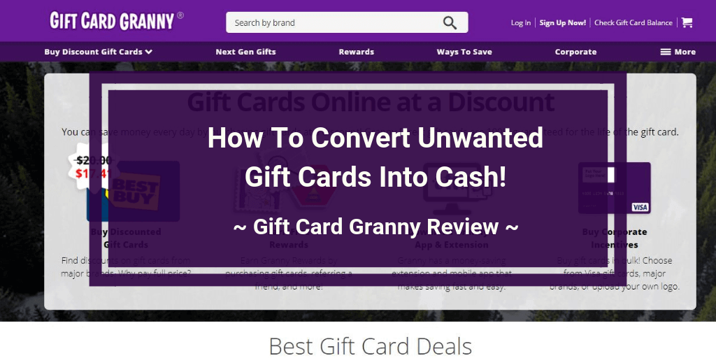 Gift Card Granny Review