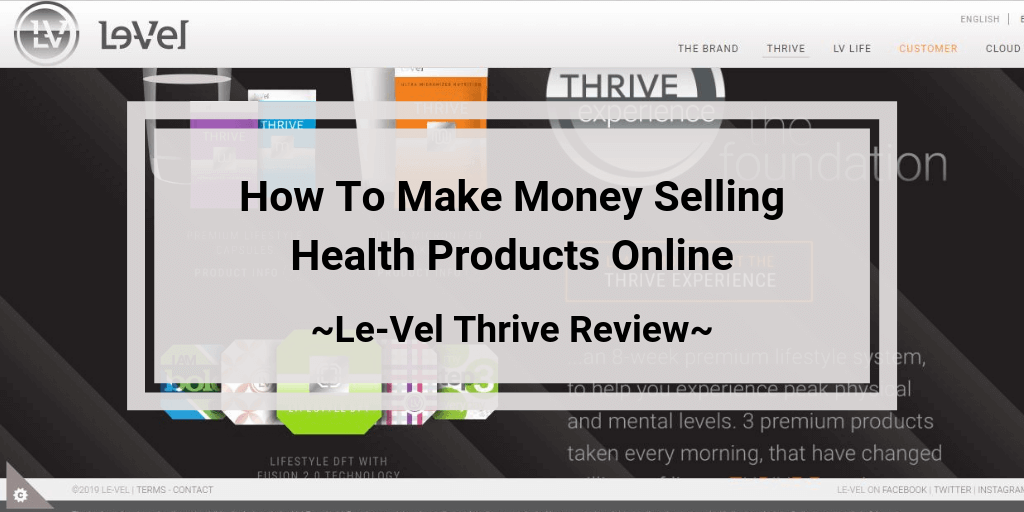 Le-vel Thrive Review