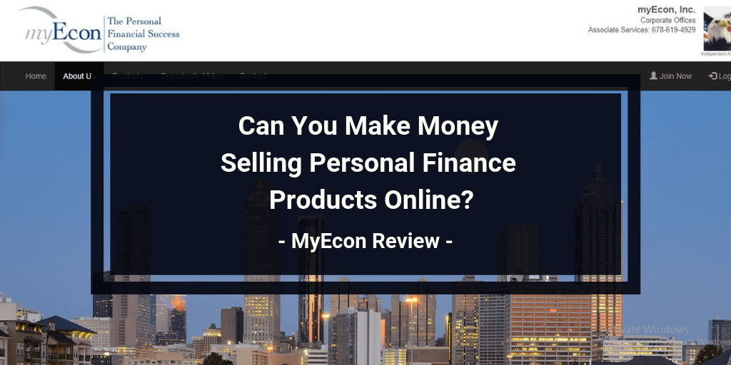 MyEcon Review: Legit or Financial MLM Scam? | Work At Home No Scams