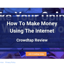 Crowdtap Review