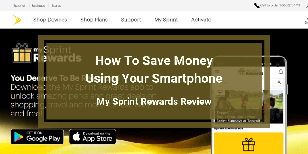 My Sprint Rewards Review.