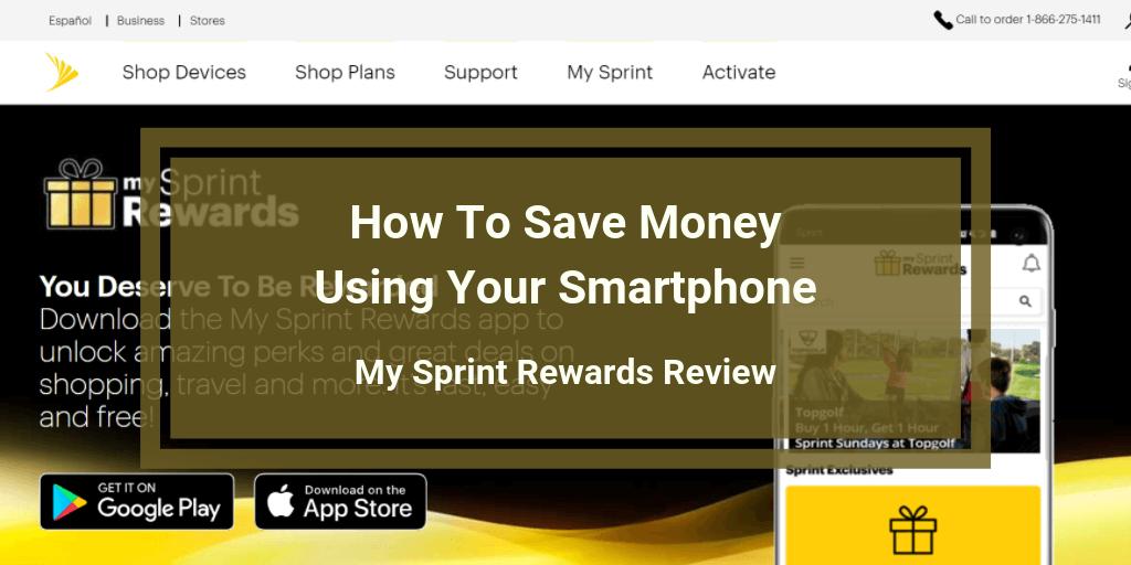 My Sprint Rewards Review.