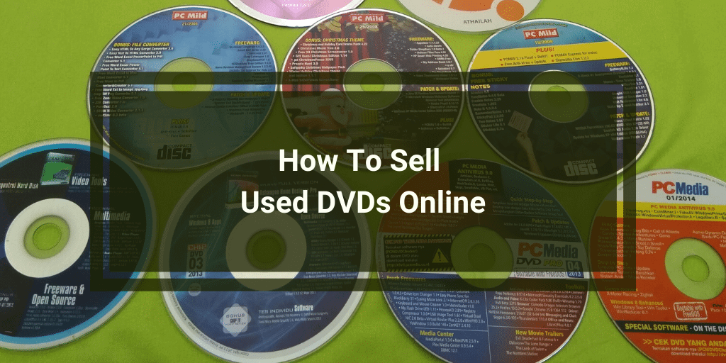 How To Sell Used DVDs Online